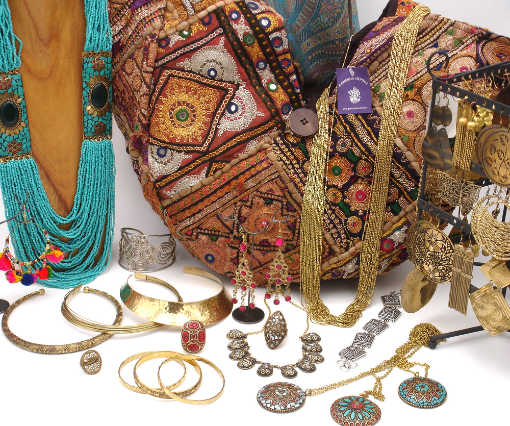 Bijoux fantaisie Indiens Ganesha import
